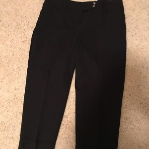 Style and company black capris size 14